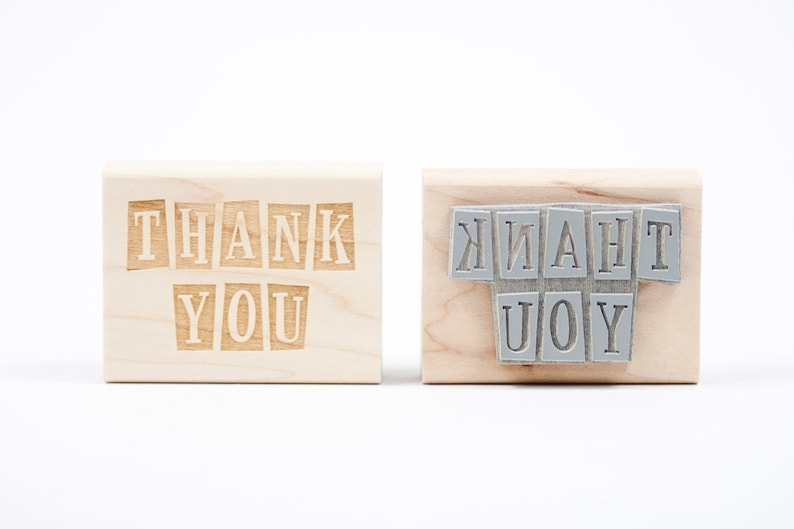 Thank You Rubber Stamp image 0
