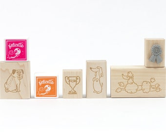 Best in Show Dogs Rubber Stamp Craft Kit