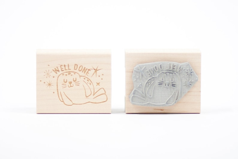 Seal of Approval Rubber Stamp image 0