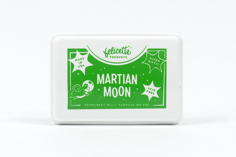 Martian Moon Green Multipurpose Ink Pad image 0