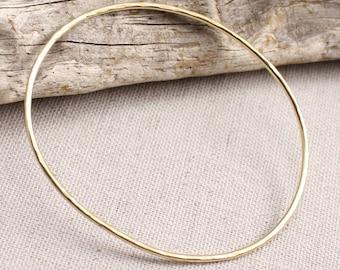 Solid 14k Gold Bangle Bracelet
