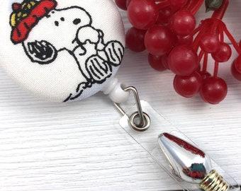 Christmas Badge Reel | Cute Badge Reel | Snoopy | Nurse Badge Reel | Badge Holder | Retractable Badge Holder | Trending Now