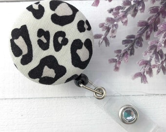 Leopard Print Badge Reel, Popular Right Now, Trending Now, RN Badge Reel, Nurse Badge Reel, Nurse Gift, Badge Holder, ID Holder. Name Badge