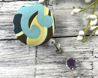 Unique Badge Reel, Cute Badge Reel, Abstract Print, Modern Prints, RN Badge Reel, Nurse Badge Reel, Cheer up Gift, Nursing Student Gifts