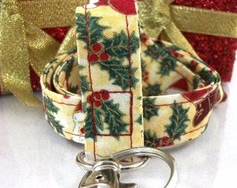 Christmas Lanyard for your ID Badge