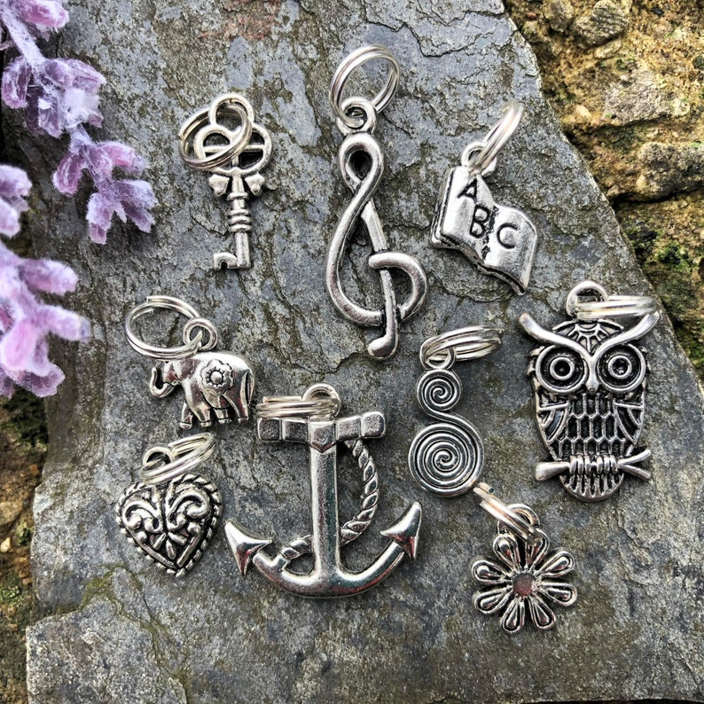 Cute Charms for Lanyard Keychain and Badge Reel Trending image 1