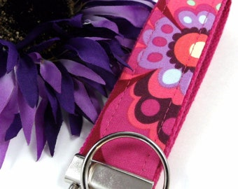 Amy Butler Key Fob LOVE Floral