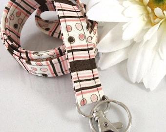 Fabric Lanyard ID Badge Holder