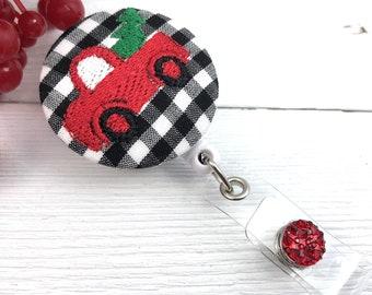 Christmas Badge Reel | Cute Badge Reel | Nurse Badge Reel | Badge Holder | Retractable Badge Holder | Popular Right Now