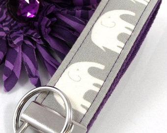 Elephant Keychain Wristlet