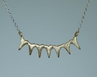 7 Spiky Heart Necklace