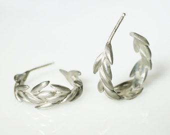 Seed Hoop Earrings