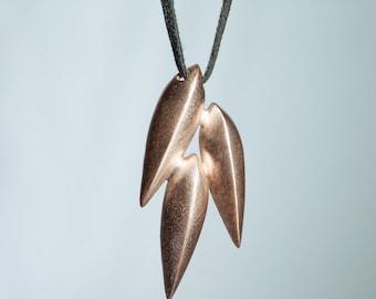 Triple Pod Necklace