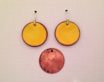 Lucky Penny Earrings