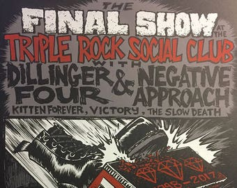 The Final Triple Rock show gigposter