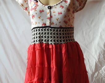 Fun Girls Upcycled Top