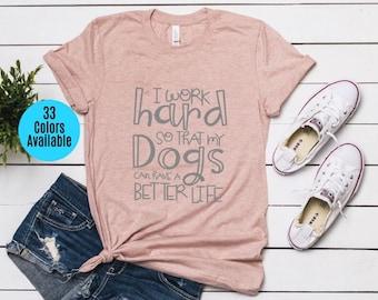8b035bc9a Gift for Dog Lover, Dog Mama Tshirt, Funny Dog Shirt, Cute Gift for New Dog  Mom, Dog Shirt For Women, Dog Lover Shirt, Dog Mom