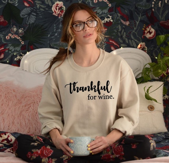 Give Thanks for Wine Funny Thanksgiving Shirt 4 Colors  24837d888