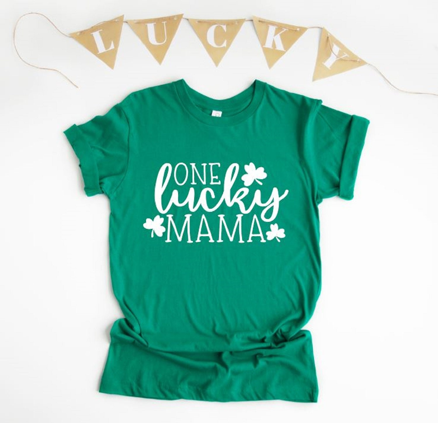 e606523a4 One Lucky Mama One Lucky Mama Shirt St. Patrick's Day | Etsy