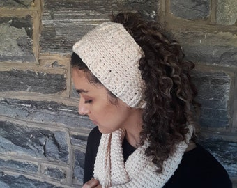 Crochet headband/crochet earwarmer/headband/hairband/handmade earwarmer/messy bun wrap/wide headband/handmade headband/winter headband/gift
