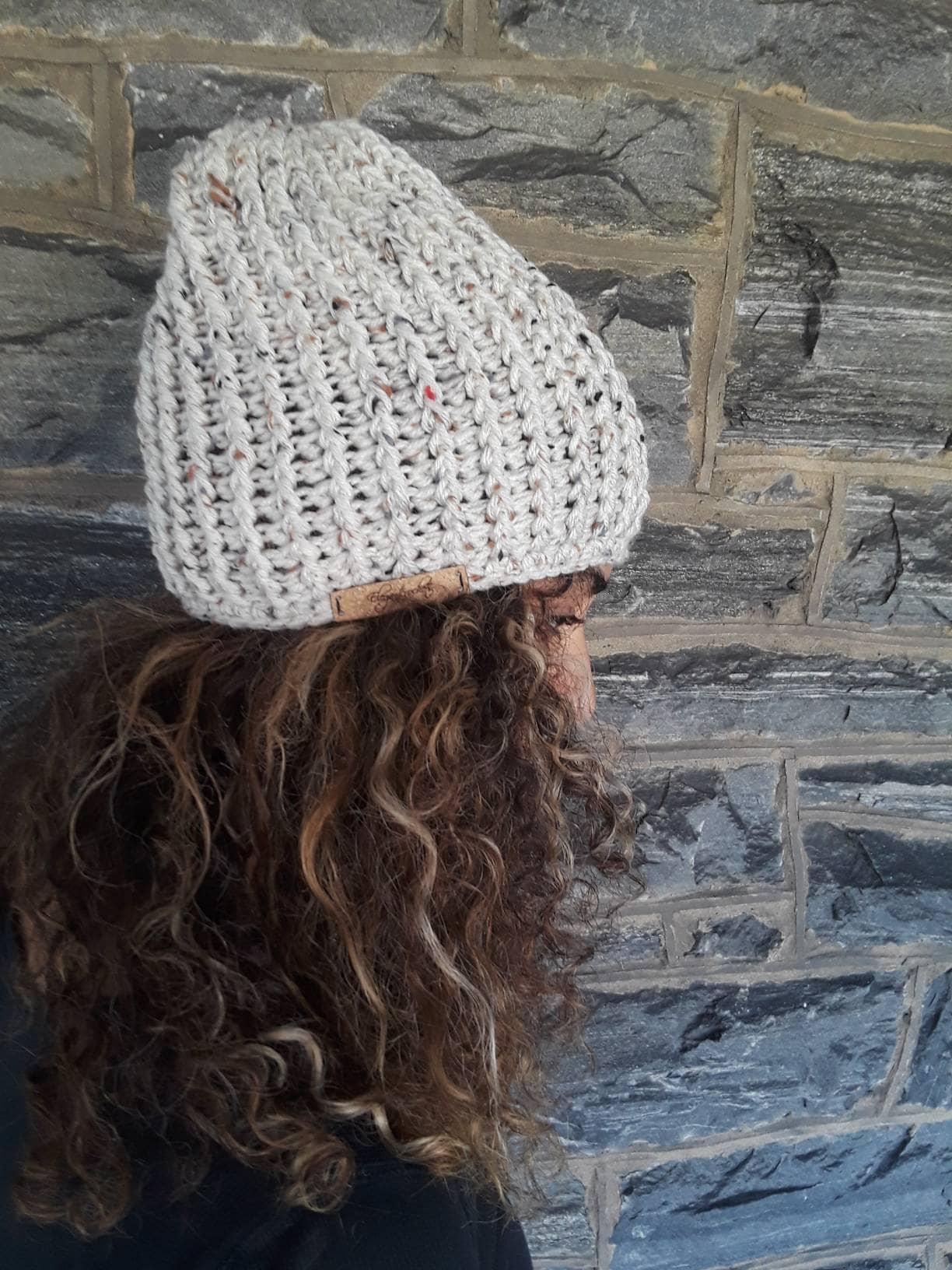 ce57ddb189e CROCHET skull cap beanie holiday gift gift for her unisex beanie ...