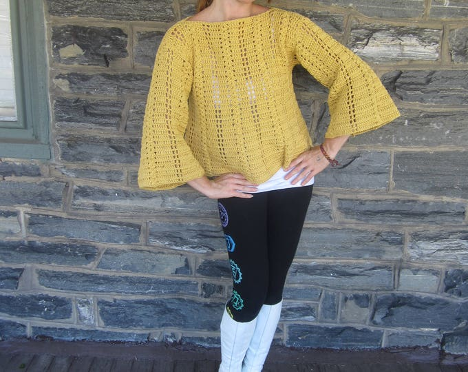 CROCHET SWEATER, Boho sweater, Womens sweater, Hippie sweater, womens clothing, crochet womens sweater, Gift for women, gift for her, jumper
