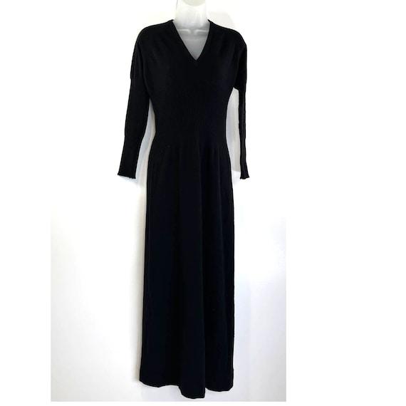 Bonnie Cashin Maxi Sweater Dress Vintage 80's Wom… - image 1