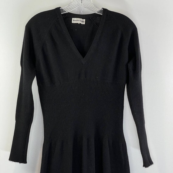 Bonnie Cashin Maxi Sweater Dress Vintage 80's Wom… - image 6