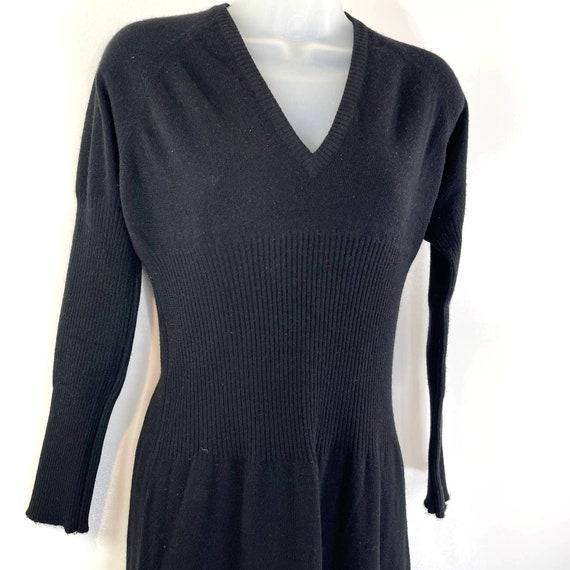 Bonnie Cashin Maxi Sweater Dress Vintage 80's Wom… - image 2