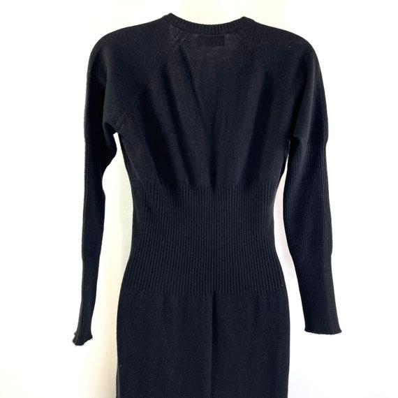 Bonnie Cashin Maxi Sweater Dress Vintage 80's Wom… - image 8