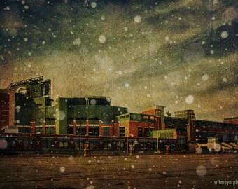 Frozen Tundra  Part II - Lambeau Field - Green Bay Packers -  Home Decor