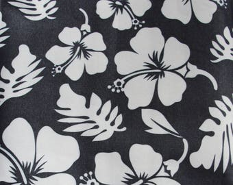 Floral Waterproof bag Fabric Leaves and Flower Fabric Pieces