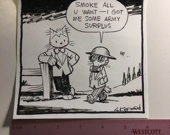 Original Laugh-Out-Loud Cats comic!