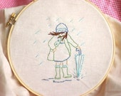 PDF - Embroidery Pattern - Her Month by Month - SINGLE