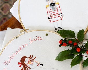 Embroidery Pattern PDF - The Nutcracker Suite