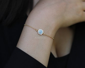 Dainty Matt Gold Star Double Beaded Chain Anklet Everyday Simple Women Layering Foot Jewelry Cute Christmas Best Friends BFF Birthday Gift
