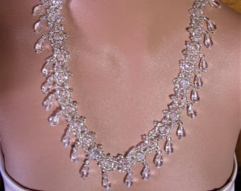 ICE PALACE Statement Necklace