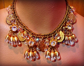 THE GOLDEN HOARD statement necklace