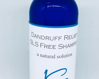 Natural SLS Free Shampoos Handcrafted, Dandruff, Dry, Color Treated,