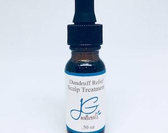 Natural Dandruff Relief Scalp Oil