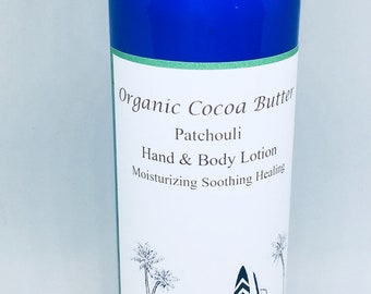 Organic Cocoa Butter Lotion , Stretch marks, dry skin, chocolate
