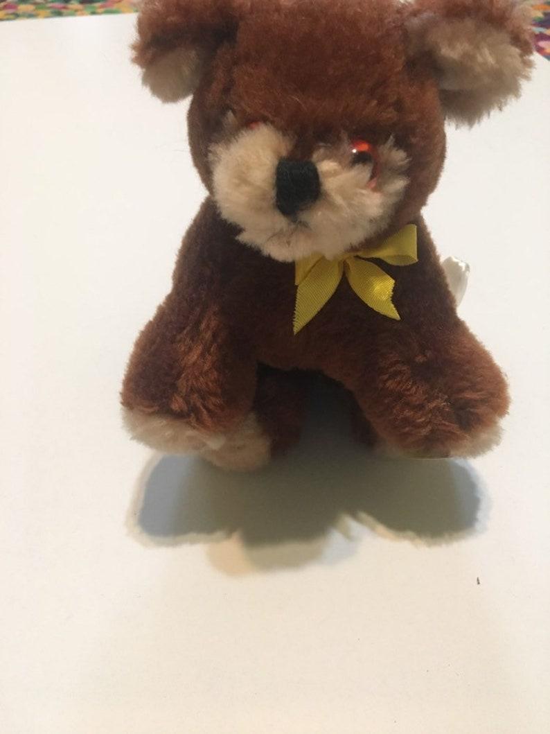 Vintage sweet 1977 Russ Berrie Bimini Bear Stuffed Animal