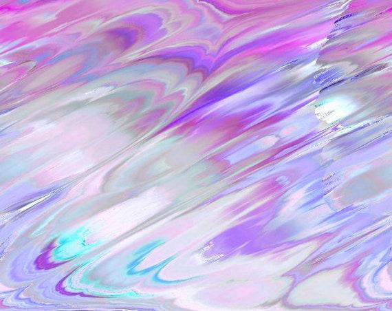Purple Designer Handmade Vibrant ColorsSoft Minky Fabric By The Yard Fiber Art Blanket Home Decor Colors