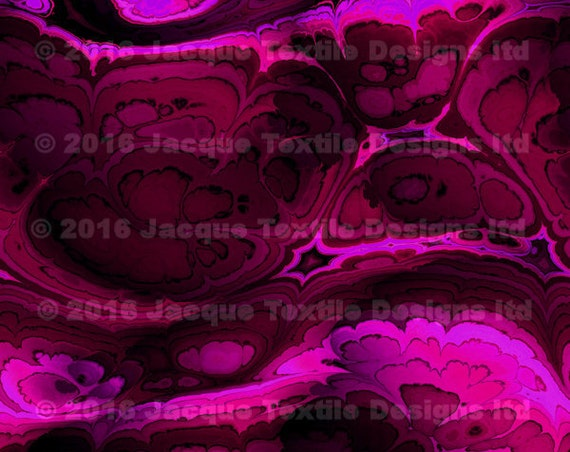 Artist Handmade Violet Purple Crepe De Chine Caftan Fabric Apparel Sheer Home Decor