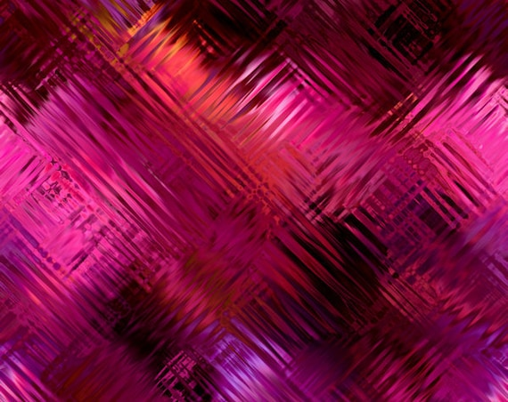 Fushia Purple Burgandy Artist Created Lycra Cotton Knit Fabric By The Yard Athletic Apparel