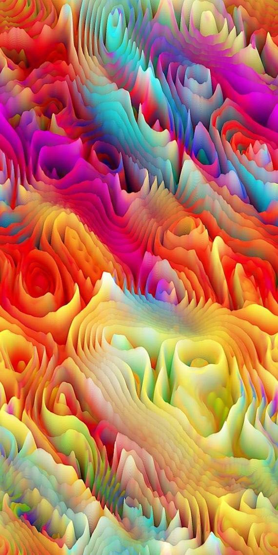 Artisan Made Sateen Cotton Textile Fabric Vibrant Home Decor Drapery Pillows