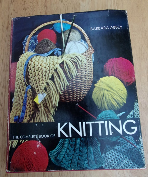 The Complete Book Of Knitting Lace Patterns Stitch Shaping Etsy