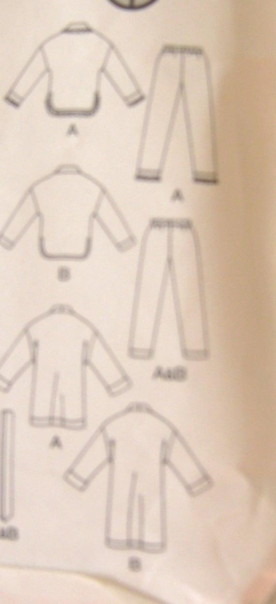 Niño pijama bata dormir desgaste patrón Butterick rápido fácil | Etsy