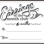 Earrings of the Month Club - 6mo
