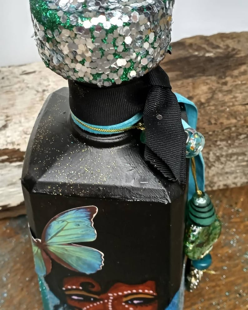showers Hand painted Statement Bottle Birthdays Decanter retirement and all occasions. buy now or get yours customized for Weddings